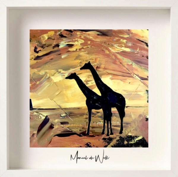 Giraffen Mayla & Dhakija Erfurter Zoopark